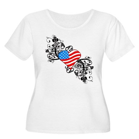 4th Of July / Independence Da Women's Plus Size Sc