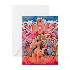 Santa Fe Tara Greeting Card