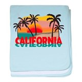 California Sunset Souvenir baby blanket