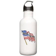 United We Stand Patriotic Water Bottle