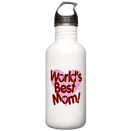 World's BEST Mom! Stainless Water Bottle 1.0L