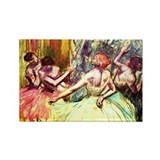 Edgar Degas Rectangle Magnet (100 pack)