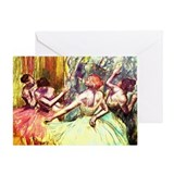 Edgar Degas Greeting Card