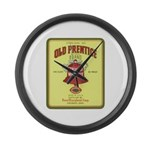 Old Prentice Whiskey - Large Wall Clock