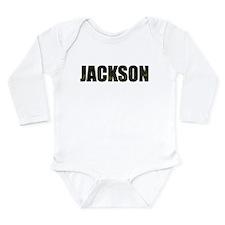Camo Jackson Long Sleeve Infant Bodysuit