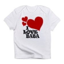 I Love Baba Infant T-Shirt