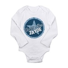 Worlds Best Zayde Long Sleeve Infant Bodysuit