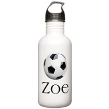 Zoe soccer Water Bottle