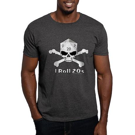 I Roll 20s Black T-Shirt