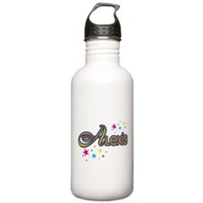Funny Alexis name Water Bottle