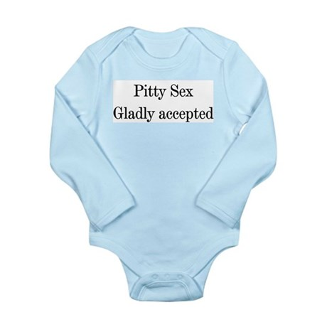 Pitty Sex Long Sleeve Infant Bodysuit