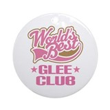 Show Choir Glee Club Ornament (Round)