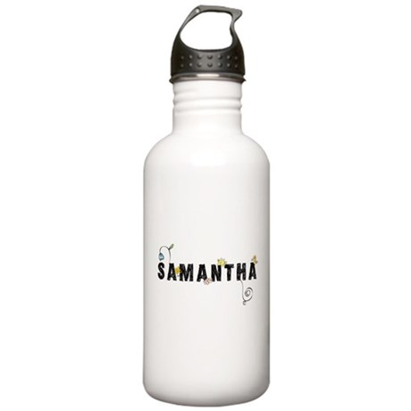 Samantha Floral Stainless Water Bottle 1.0L