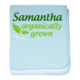 Organic Samantha baby blanket