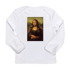 Mona Lisa Long Sleeve Infant T-Shirt