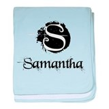 Samantha Grunge baby blanket