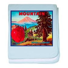 Mountain baby blanket