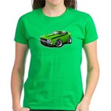 Roadrunner Lime-Black Car Tee