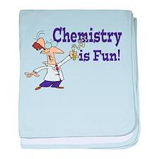 Chemistry is Fun! baby blanket