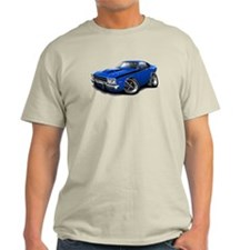 Roadrunner Blue-Black Car T-Shirt