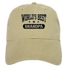 World's Best Grandpa Baseball Cap