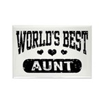 World's Best Aunt Rectangle Magnet