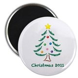 "Christmas Tree 2011 2.25"" Magnet (100 pack)"