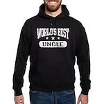 World's Best Uncle Hoodie (dark)