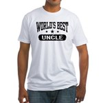 World's Best Uncle Fitted T-Shirt