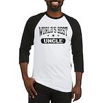 World's Best Uncle Baseball Jersey
