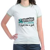 Fight Like A Girl Ovarian Cancer T