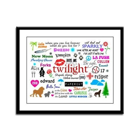 Twilight Memories Framed Panel Print