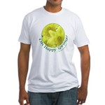 Daffodils, Oh Happy Spring Fitted T-Shirt