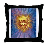 The Fifth Sun Throw Pillow