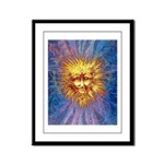 The Fifth Sun Framed Panel Print