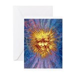The Fifth Sun Greeting Card