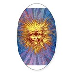 The Fifth Sun Sticker (Oval)