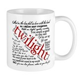 Twilight quotes Small Mug