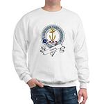 Gray Clan Badge Sweatshirt