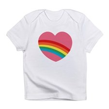 80s Rainbow Heart Infant T-Shirt