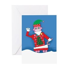 Holiday Cards- Robot Greeting Card