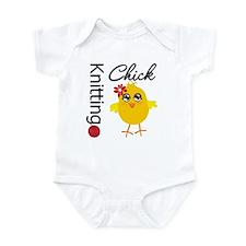 Knitting Chick Infant Bodysuit