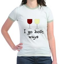 I Go Both Ways Red White Wine T
