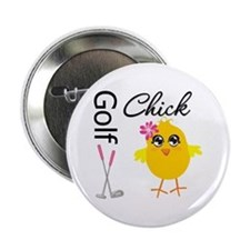 "Golf Chick v2 2.25"" Button"