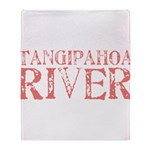 Tangipahoa River Throw Blanket