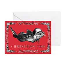 Funny Christmas puns Greeting Cards (Pk of 20)