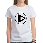 Play Button Women's T-Shirt