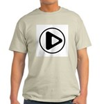Play Button Light T-Shirt