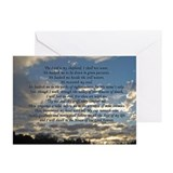Beautiful Psalm 23 Greeting Cards (Pk of 20)