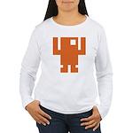 Pixel Dancer Women's Long Sleeve T-Shirt
